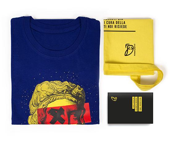 agenda filosofica - Kit XL blu taccuino