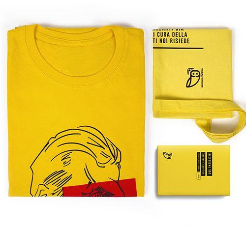 agenda filosofica - Kit XL gialla agenda