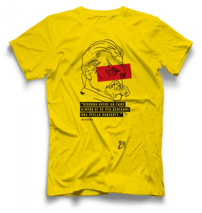 agenda filosofica - T-shirt caos