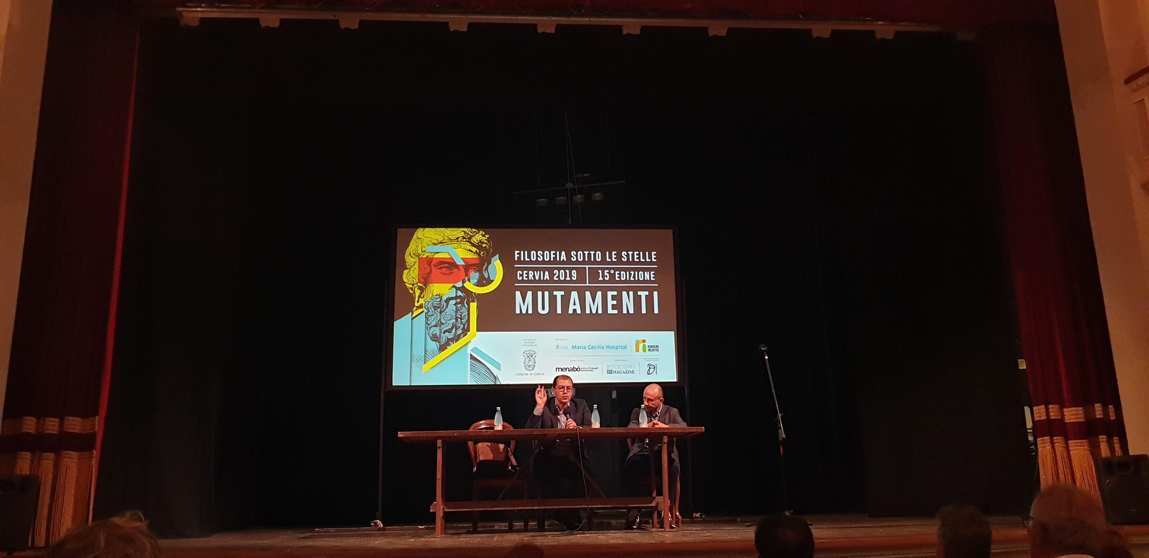Festival della Filosofia - 27 Luglio - Massimo Adinolfi