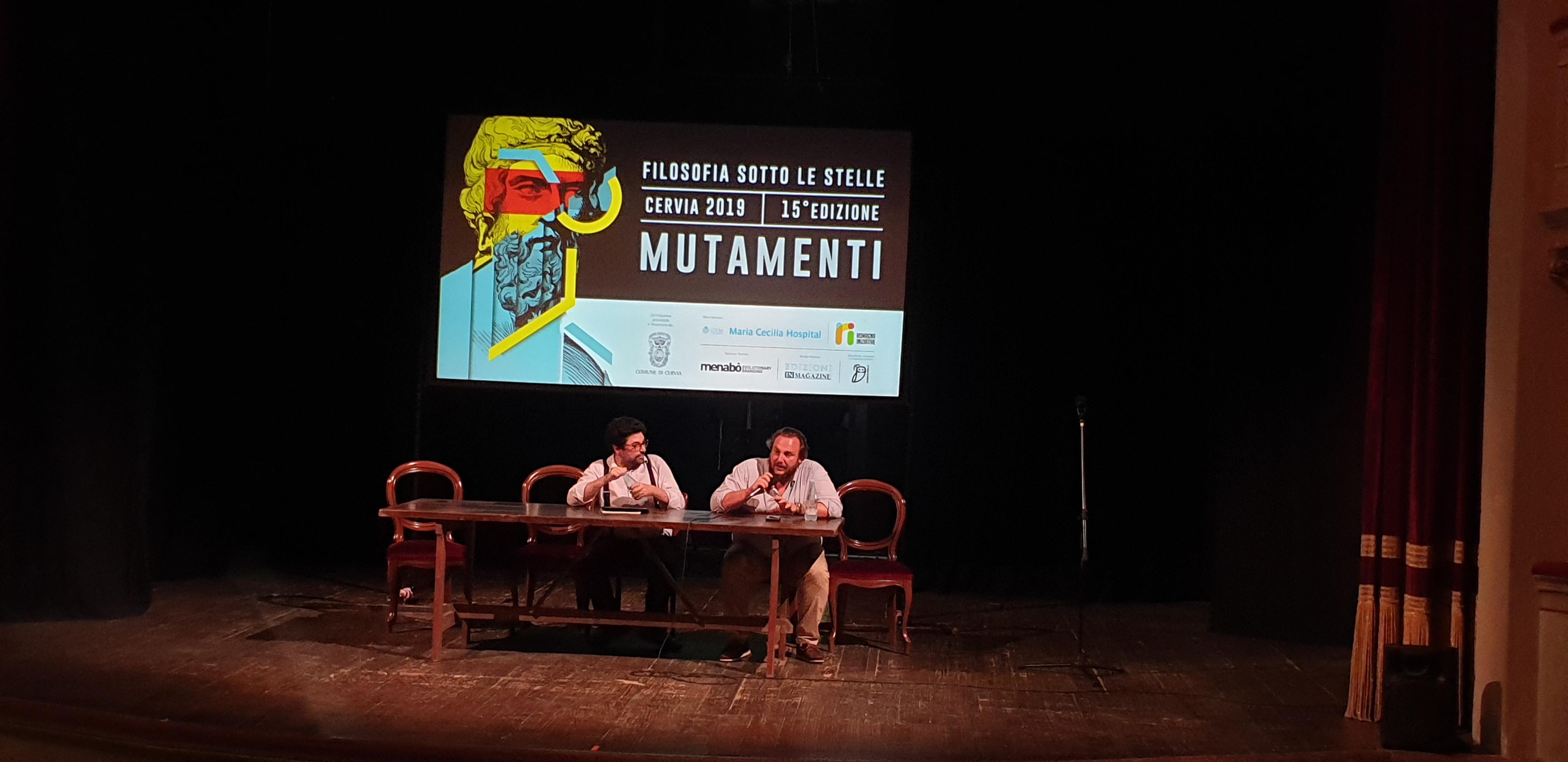 Festival della Filosofia - 28 Luglio - Vincenzo del Guado