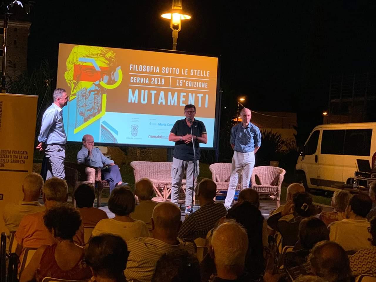Presidente Agenda Filosofica Alberto Donati - intervento